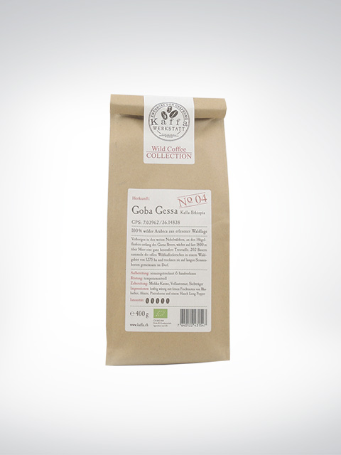 Kaffa Goba Gessa, Wild Coffee Collection No 4