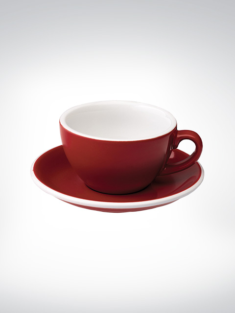 Loveramics Flat White Tasse rot