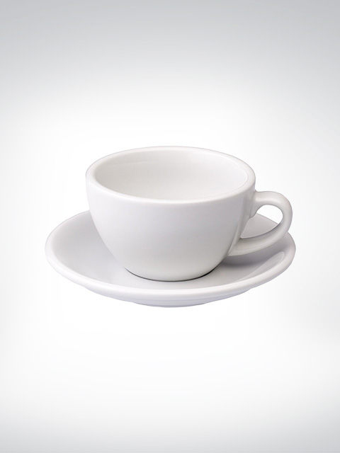 Loveramics Cappuccino large Tasse weiss