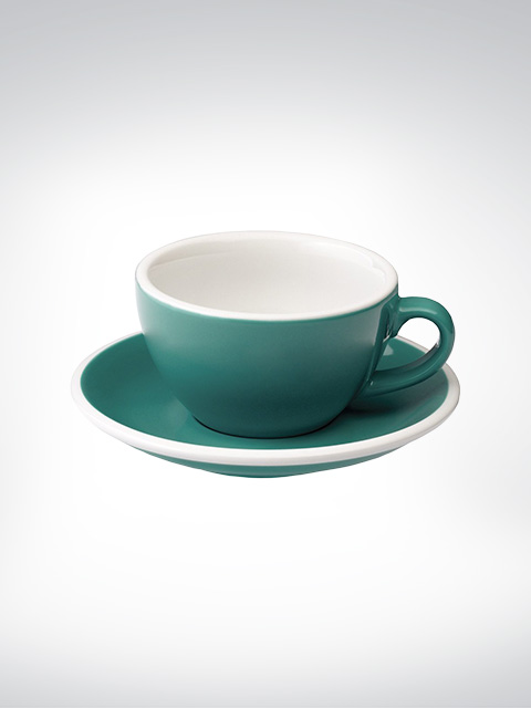Loveramics Cappuccino large Tasse teal